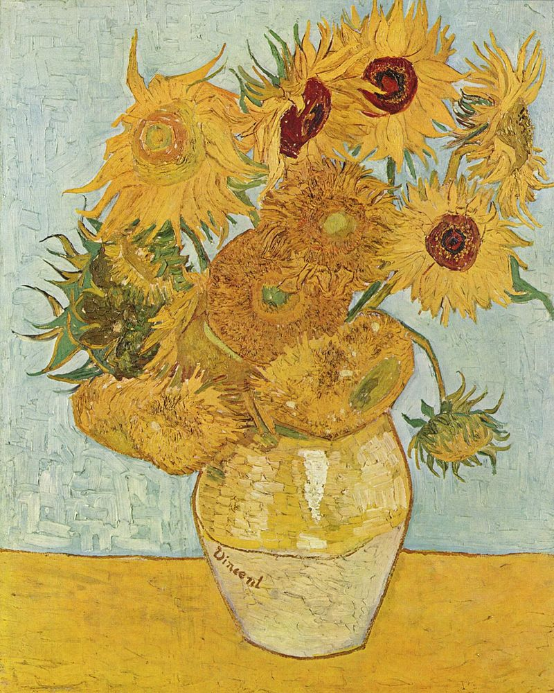 The most famous paintings in the world: what to tell a child about them Van Gogh. Sunflowers