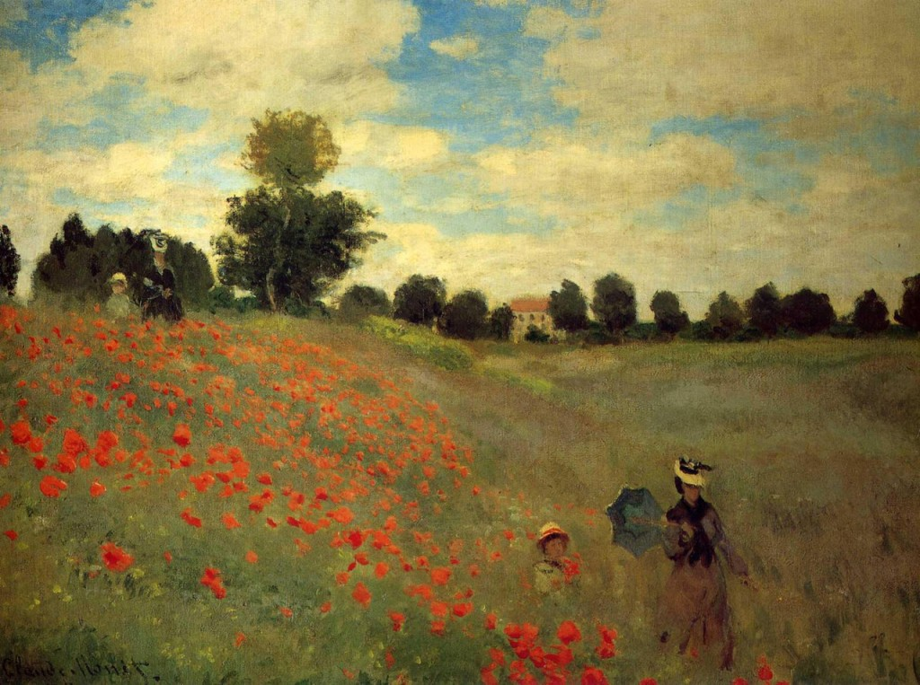 The most famous paintings in the world: what to tell the child about them Claude Monet. Poppy Field near Argenteuil