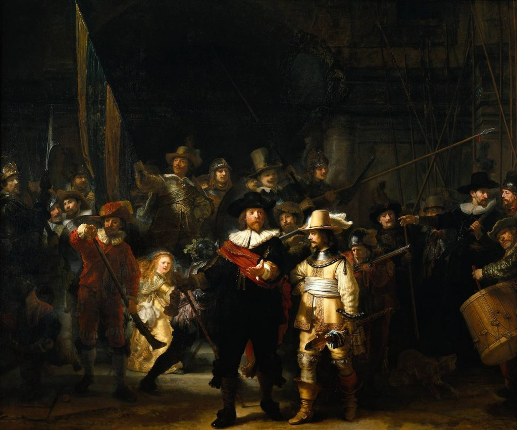 The most famous paintings in the world: what to tell the child about them Rembrandt Harmens van Rijn. The night Watch