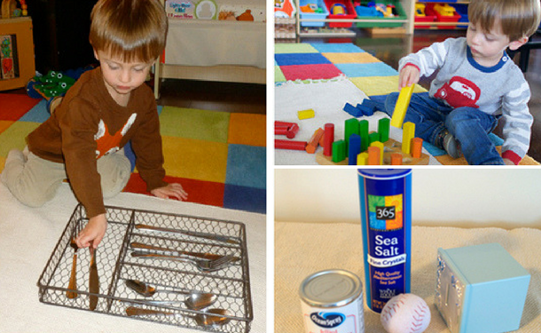 Method Montessori: games for the early development of children at home by the methods of Maria Montessori