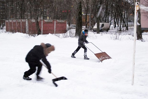 Family weekend: how to make a skating rink in the yard - image №2