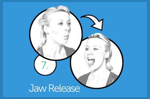 How to remove the second chin: 10 best exercises - image №1