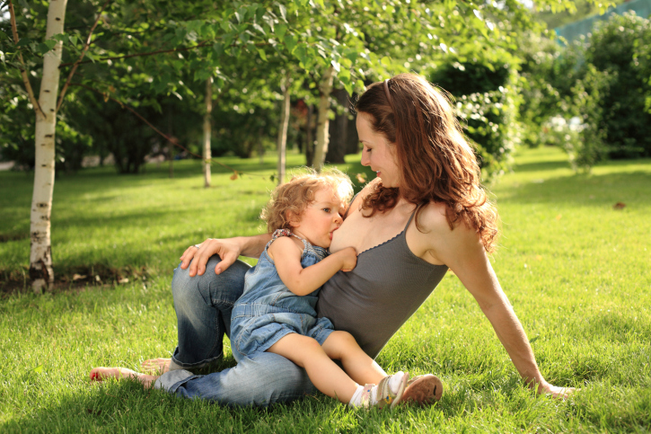 an essay on time magazines feature of a young mother breastfeeding her three year old son