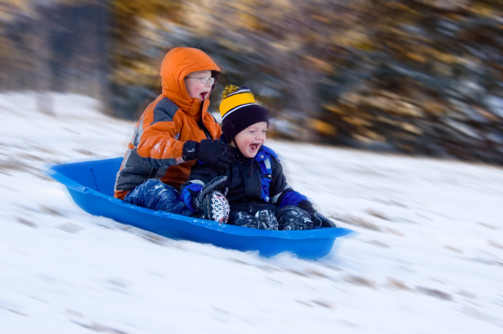 Sledding: safety rules on the hill - image №1