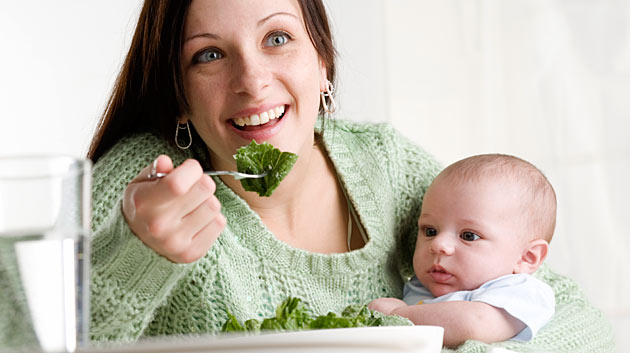 Proper nutrition of a nursing mother - image №1
