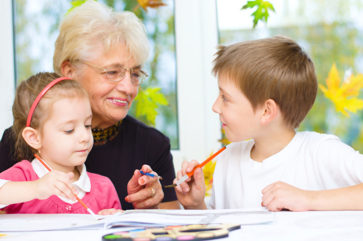 Why do grandmothers need to be involved in raising their grandchildren?