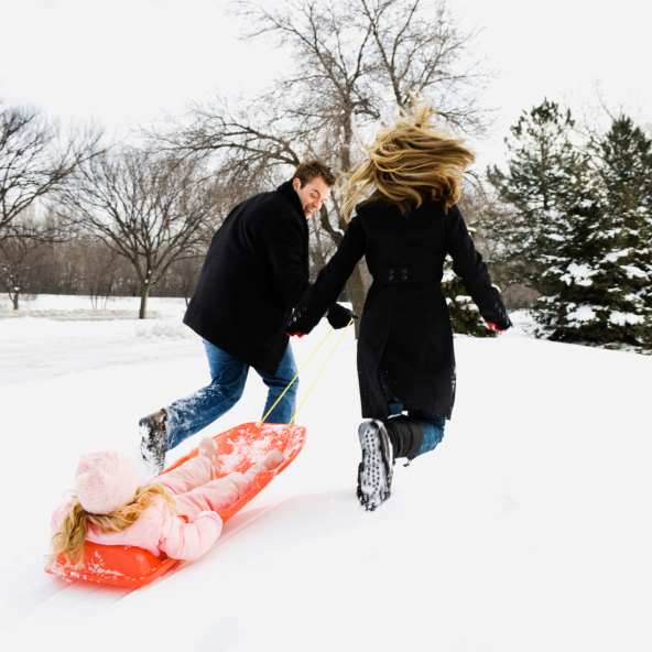 Sledding: safety rules on the hill - image №2