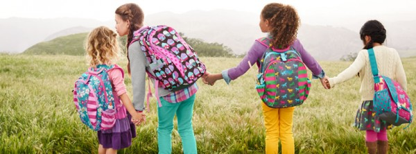 School bags for first graders