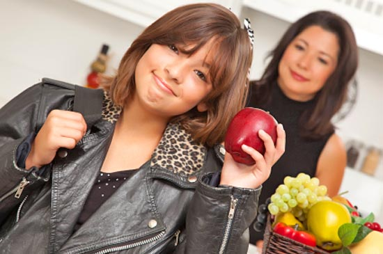 teenagers and diet