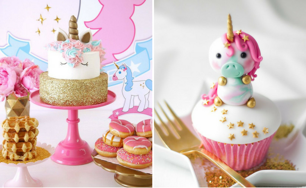 How to organize a fabulous baby birthday in the style of a unicorn